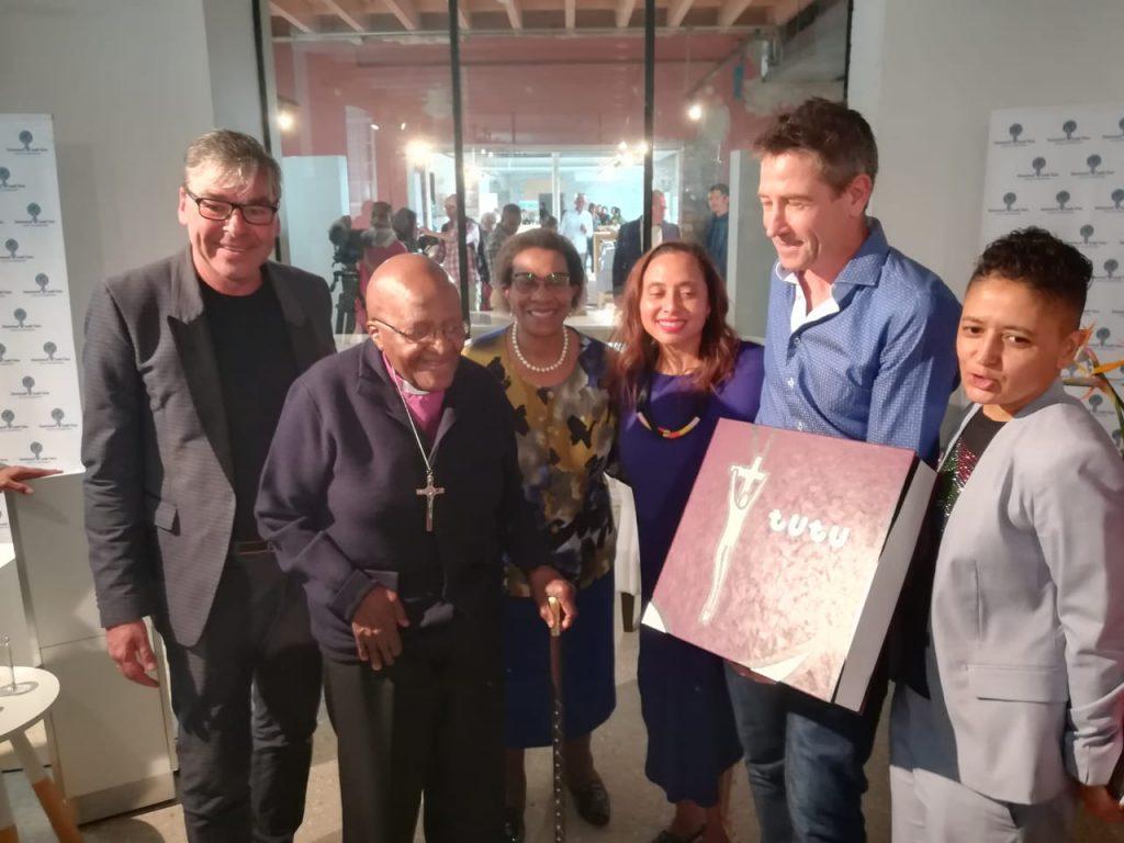 Vincent van Zon - Desmond Tutu project